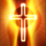 Glowing cross — Stock Photo #8720549