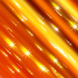 Glittering stars blurred yellow and red background — Stock Photo #8723379