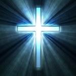 Glowing cross — Stock Photo #8723664
