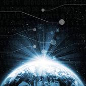 Digital world — Stock Photo