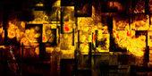 光泽方块的背景 — 图库照片