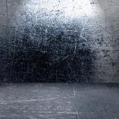 Grunge kovu interiér — Stock fotografie