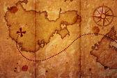 Eski harita — Stok fotoğraf