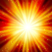 Shining rays — Stock Photo
