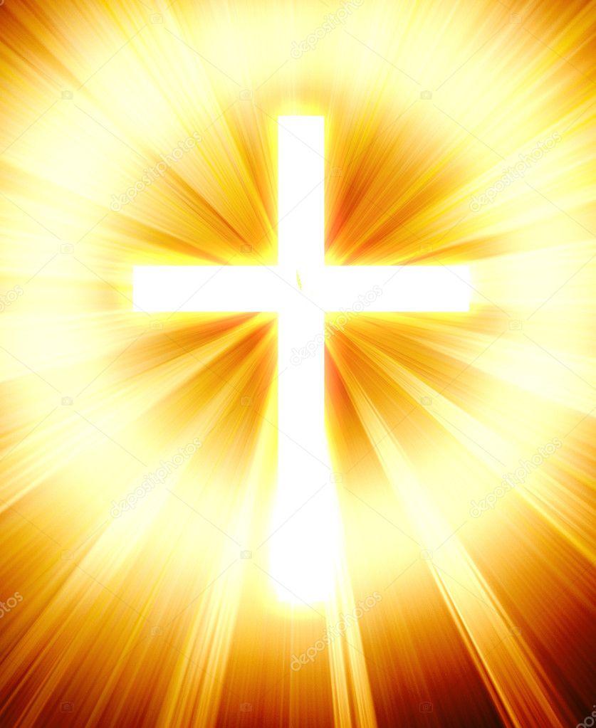 Croce luminosa foto stock lodec 8722651 for Piani di luce biliardo