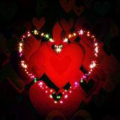 Fondo grunge de amor — Foto de Stock