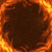 Frame of the burning elements — Stock Photo