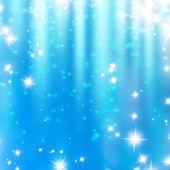 Yumuşak bir mavi parlak parlayan — Stok fotoğraf