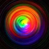 Background of colored concentric circles — Stock Photo