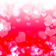 Background with hearts — Foto de Stock