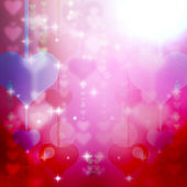 Abstract romantic background — Stock Photo