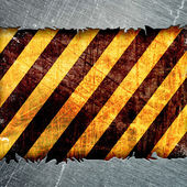 Warning Background Texture — Stock Photo
