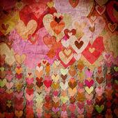 Grunge sevgi desen arka plan — Stok fotoğraf