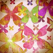 Vintage butterfly — Stock Photo