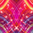 Glittering stars blurred colorful background — Stockfoto