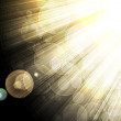 Shining rays of glare on a dark background — Stock Photo #9815742