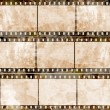 Old film strip — Stok fotoğraf #9817667