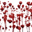 Splashes of blood — Stock Photo #9818752