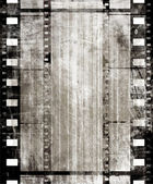 Old film strip — 图库照片