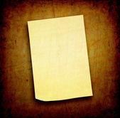 Blank sticker — Stock Photo
