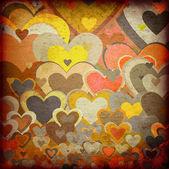 Granica miłości tło wzór — Zdjęcie stockowe