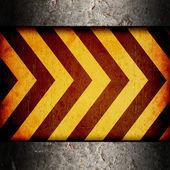Warning Background Texture — Foto de Stock