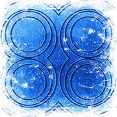Cirklar på väggen — Stockfoto