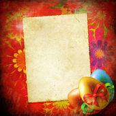 Tarjeta de pascua — Foto de Stock