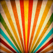 Multicolor Sunbeams grunge background — Stock Photo #9849425