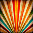 Multicolor Sunbeams grunge background - Stok fotoraf