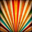 Multicolor Sunbeams grunge background - Foto Stock