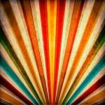 Multicolor Sunbeams grunge background — Stock Photo