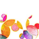 Grunge colorful circles — Stock Photo