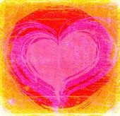 红色的心 — 图库照片