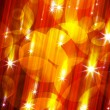 Glittering stars blurred — Stock Photo