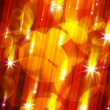 Stock Photo: Glittering stars blurred