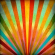 Multicolor Sunbeams grunge background — Stock Photo #9886126
