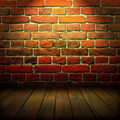 Old wall and floor — Stock Photo