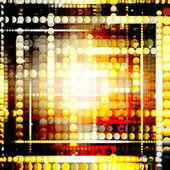 Strips of shiny golden circles — Stock Photo