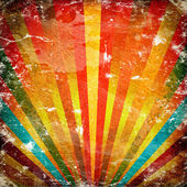 Multicolor Sunbeams grunge background — Stock fotografie