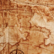Old map — Stock Photo #9900644