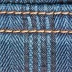 Denim blue background — Stock Photo