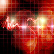 Heart monitor — Stock Photo
