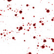 Spots and splashes of blood — Stock Photo