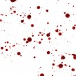 Royalty-Free Stock Photo: Spots and splashes of blood