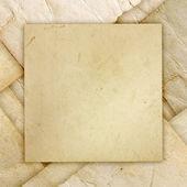 Folded grunge paper — Stock Photo