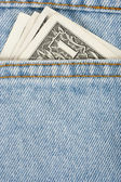 Money in your pocket. — Stock Photo