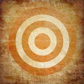 Vintage target — Stock Photo