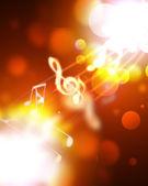 刻录音乐符号 — 图库照片