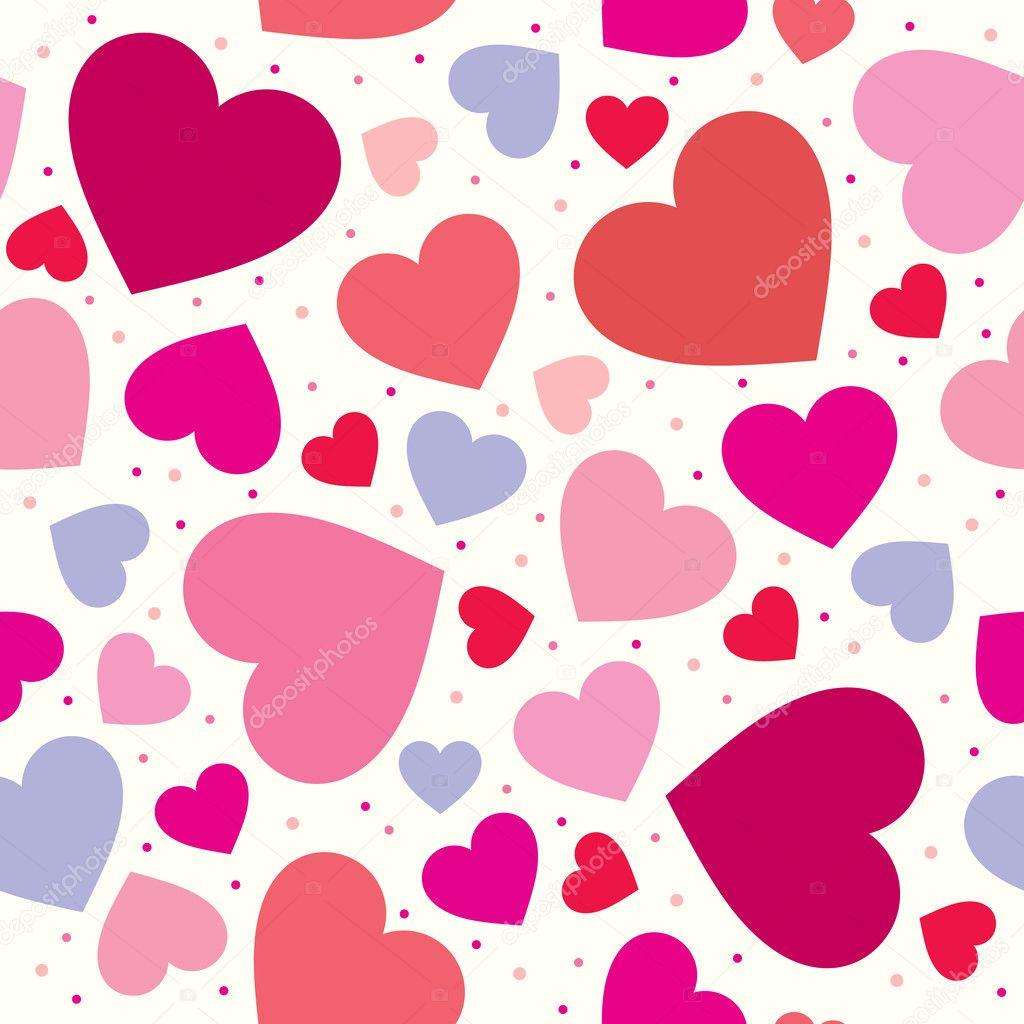 corazones de fondo para la boda y San Valentín — Vector stock ...
